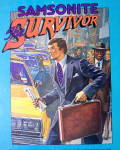 Click to view larger image of 1982 Samsonite Briefcase with The Samsonite  Survivor (Image2)