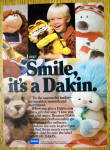 1984 Dakin Stuffed Toy with Garfield & Pooky