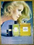 1973 Chanel No.5 Perfume with Catherine Denevue