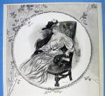 Click to view larger image of 1907 Ivory Soap with Lovely Woman Sitting In Chair (Image2)