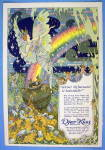 Click to view larger image of 1913 Djer Kiss with Lovely Woman as an Angel (Image1)