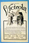 Click to view larger image of 1913 Lyon & Healy Victrola with Couple Dancing (Image2)