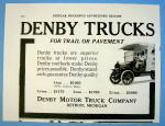 1916 Denby Motor Truck Company with Denby Trucks