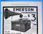 Click to view larger image of 1916 Emerson with Emerson Phonograph (Image2)