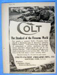 1918 Colt Patent Firearms with Men Shooting