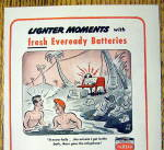 Click to view larger image of 1944 Eveready Battery with Men In Water by Sid Hix (Image2)