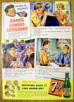 Click to view larger image of 1950's 7 Up With Sam's Lingo Lessons (Image1)
