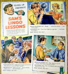 Click to view larger image of 1950's 7 Up With Sam's Lingo Lessons (Image2)
