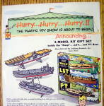 Click to view larger image of 1950's Monsanto Model Kit with Boats (Image2)