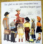 Click to view larger image of 1950's Roy Rogers Gear with Roy Rogers & Children (Image2)