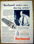 1930 Barbasol For Modern Shaving with Tony Sarg