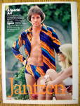 1977 Jantzen Swim Wear with Man in Swim Briefs
