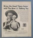 Click to view larger image of 1975 James Evans Talking Toy/Doll w/Jimmie Walker (Image1)