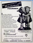 Click to view larger image of 1958 M. J. Hummel Figurines with 2 Girls Figurine (Image2)
