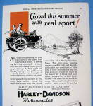 Click to view larger image of 1927 Harley Davidson with Side Car with Man & Woman (Image2)