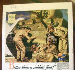 Click to view larger image of 1943 Body by Fisher with 3 Soldiers by Tank (Image2)