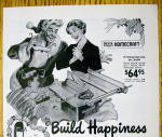 Click to view larger image of 1949 Delta Homecraft Power Tools with Happy Man (Image2)