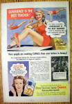 1947 Camel Cigarettes with Mildred O'Donnell