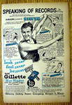 Click to view larger image of 1947 Gillette Blades with Adolph Sonny Kiefer (Image1)