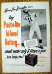 Click to view larger image of 1953 Prest -O- Lite Battery with Norm Van Brocklin (Image1)