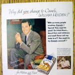Click to view larger image of 1954 Camel Cigarettes with William Holden (Image2)