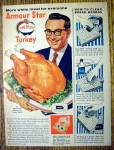 Click to view larger image of 1955 Armour Star Turkey with Steve Allen (Image1)