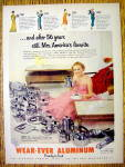 1956 Wear-Ever Aluminum with Mrs. America