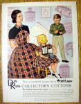 Click to view larger image of 1956 Dan River with Collector's Cottons (Image1)