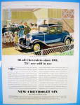 1931 Chevrolet with New Chevy Six
