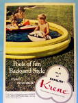 Click to view larger image of 1954 Krene with Inflatable Pools with Children (Image2)