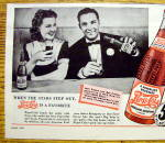 Click to view larger image of 1941 Pepsi Cola with Jean Rogers & Bob Crosby (Image2)