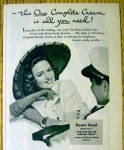 Click to view larger image of 1944 Woodbury Cream with Donna Reed (Image2)