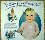Click to view larger image of 1944 Ivory Soap with Baby Smiling (Image2)