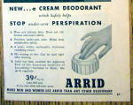 Click to view larger image of 1945 Arrid Deodorant with Diana Barrymore (Image3)