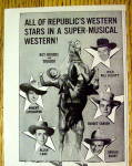 Click to view larger image of 1945 Bells of Rosarita with Roy Rogers & Trigger (Image2)