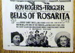 Click to view larger image of 1945 Bells of Rosarita with Roy Rogers & Trigger (Image3)