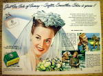 1946 Camay Soap with Lovely Bride
