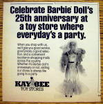 Click to view larger image of 1984 Barbie with Barbie Doll (25th Anniversary) (Image1)