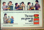 Click to view larger image of 1984 Duplo Lego Blocks with Children Building (Image3)
