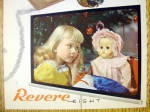 Click to view larger image of 1946 Revere Eight Projector with Little Girl & Her Doll (Image2)