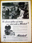1946 Mitchell Camera with John Garfield & Joan Crawford