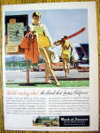 1956 Bank of America with Lake Arrowhead Resort & Woman
