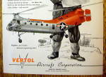 Click to view larger image of 1956 Vertol Aircraft with H-21 Workhorse Helicopters (Image2)