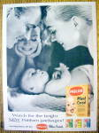 1956 Pablum Cereal with Man & Woman with Baby