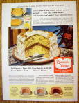 1957 Duncan Hines Cake Mix with Yellow Date Nut Cake