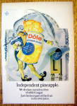 Click to view larger image of 1973 Dole Pineapple Chunks with Independent Pineapple (Image1)