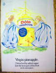 Click to view larger image of 1973 Dole Pineapple Chunks with Virgin Pineapple (Image2)