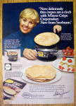 Click to view larger image of 1977 Sunbeam Crepemaker with Shirley Jones (Image1)