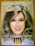 1978 Breck Shampoo with Woman Smiling