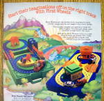 Click to view larger image of 1982 Mattel Toys with First Wheels Playsets (Image2)